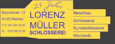 Lorenz Müller Schlosserei